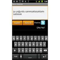 Konuş Yazdır - Android İçin Sesli Not Uygulaması