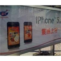 Çin'de İphone 5 Görüntülendi