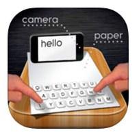 İphone'a Muhteşem Buluş: Kağıt Klavye