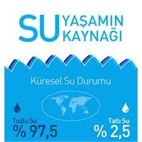 Yaşamın Kaynağı Su, Tükeniyor! [İnfografik]