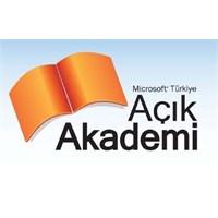 Microsoft Açık Akademi Nedir?