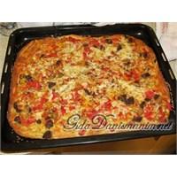 Kekikli Susamlı Pizza