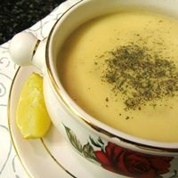 Bol Sütlü Mercimek Çorbası