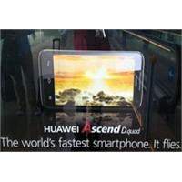 Huawei Ascend D Quad Mwc'de Tanıtıldı!