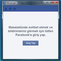 Facebook Messenger'ın Windows Sürümü Yayınlandı