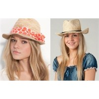 Yazlık Şapka Modelleri 2013
