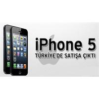 İphone 5 Türkiye'de Satılmaya Başladı İşte Fiyatı