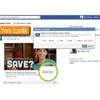 Facebook'ta Bağış Dönemi Başladı
