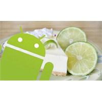Android 5.0 Key Lime Pie Sızan Bilgiler