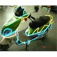 Led Şerit'ten Gösterişlisi El- Wire İşıklı Şerit