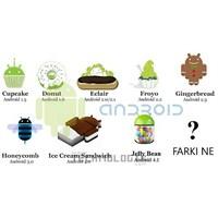 Google Android Os Arasındaki Farklar