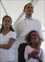 Obamanın Kızları...