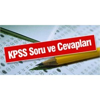 2012 Kpss Önlisans Sınavı Soru Ve Cevapları