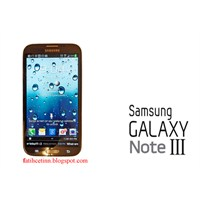 Samsung Galaxy Note 3'ün Ram'i Kaç Gb Olacak?
