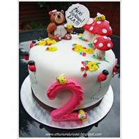 2. Yaş Gününe Özel Pasta Tasarımı