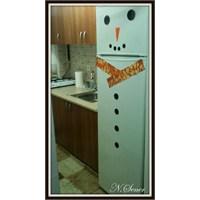 Buzdolabını Kardan Adam'a Çevirdik