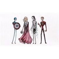 """Tim Burton Şimdi De """"The Avengers"""" A Mı El Attı?"""