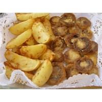 Elma Dilim Patates Ve Çıtır Mantar...