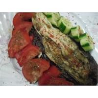 Fırında Közlenmiş Patlıcan