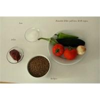 Sebzeli Bulgur(Meyhane Pilavı)