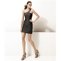 Tek Omuzlu Elbise Abiye Modelleri 2012