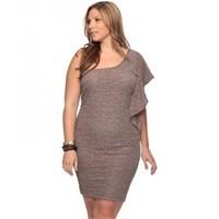 Büyük Beden Elbise Modelleri 2012