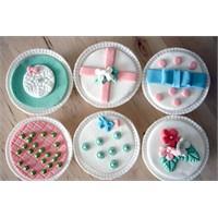 Pastel Renkte Cupcakeler