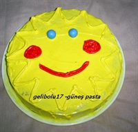 Mideden Kalbe Güneş Pasta