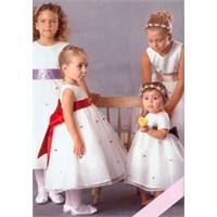 Çocuklar İçin Gelinlik Modelleri
