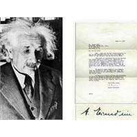 Einstein'in Mektubu 14.000 Dolara Satıldı