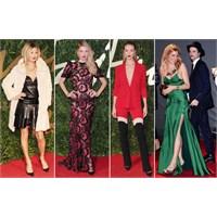 İngiliz Moda Ödülleri: Kırmızı Halının En İyileri