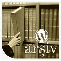Arşiv Sayfası Oluşturmak