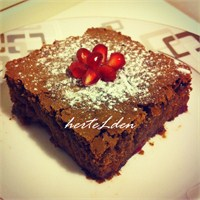 Vişneli Brownie