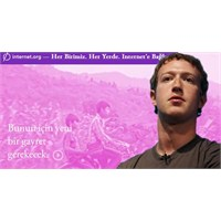 Zuckerberg'in Yeni Projesi İnternet.Org