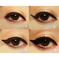Adım Adım Eyeliner Uygulaması