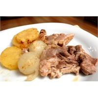 Fırın Torbasında Patatesli Tavuk