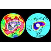 Kuzey Yarımkürede Dev Ozon Deliği Açıldı