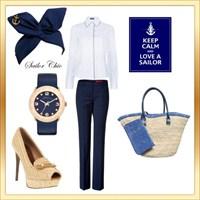 Bugün İşe Giderken Ne Giysem? Marine
