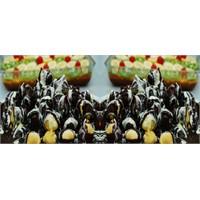 Çifte Çikolatalı Profiterol Tatlısı Tarifi