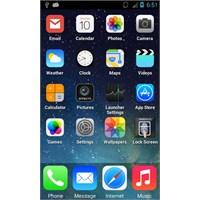 Android Telefona İos 7 Yükle // Arayüz + Kilit