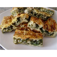 Ispanaklı Rulo Börek - Yogurtkitabi.Com