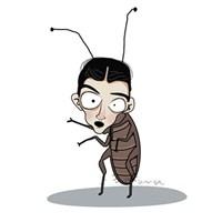 Ters Dönmüş Böceğim Sanki...