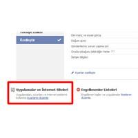 Facebook İzinlerini Nasıl Sileriz?