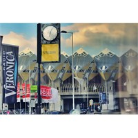 Rotterdam'ın Sıradışı Evleri: Kübik Evler