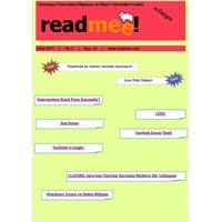 Readmee Ekim 2011 Sayısı Yayınlandı!