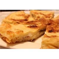 Tava Böreği Ve Portakallı Kek