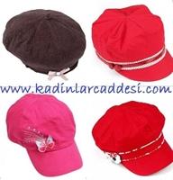 2010 Bayan Şapka Modelleri