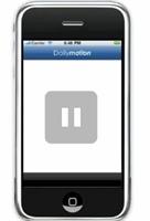 Dailymotion'dan Iphone Uygulaması