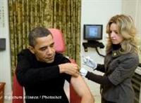 Aaa! Obama da Aşı Olmuş