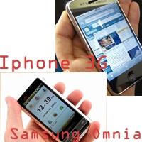 Iphone 3g Ve Samsung Omnia İnceleme Videoları
